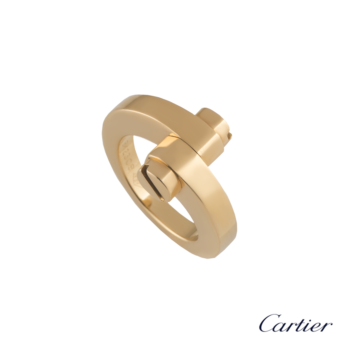 Cartier Rose Gold Menotte Ring